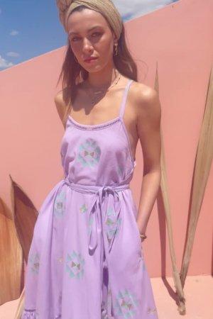 Ambrosia lavender midi dress