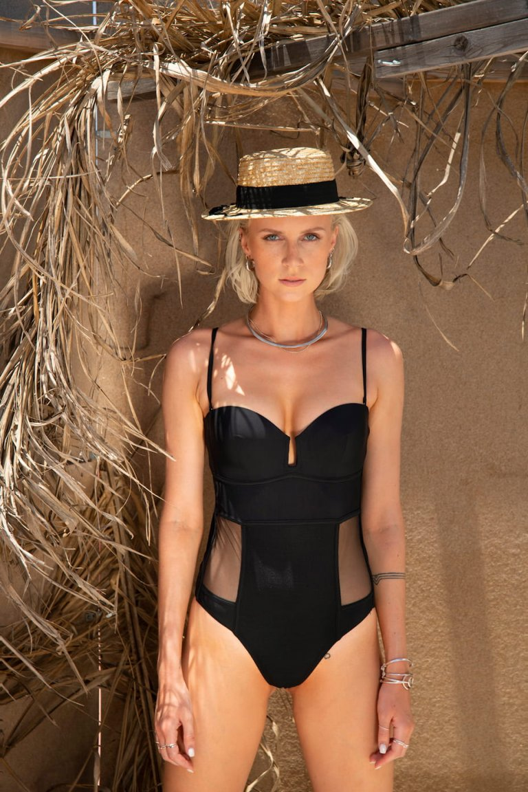 Porto Carras black one-piecce suit
