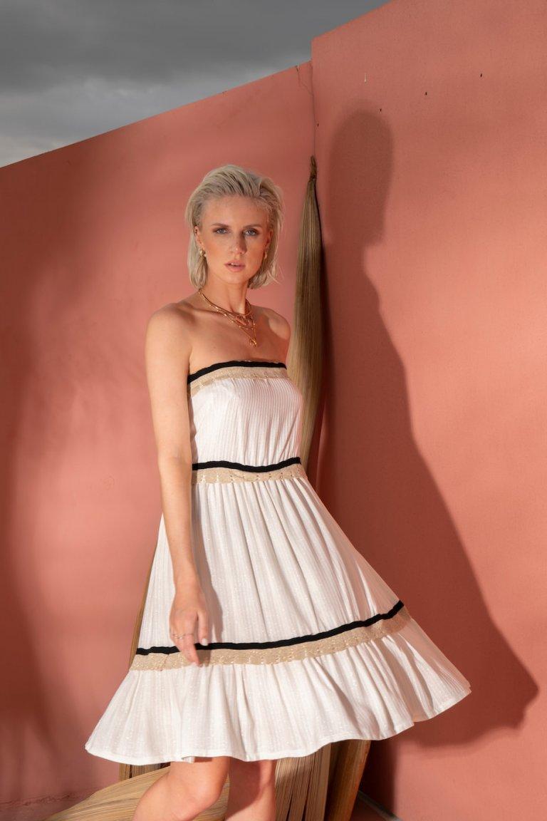 Zoey white dress